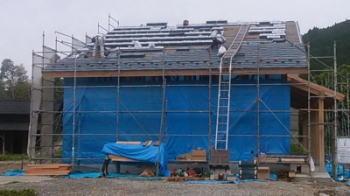 屋根工事|大分県日田市の木造りの家