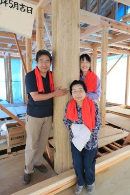 祝!上棟式|大分県日田市の木造りの家