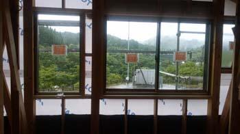 現場にてお打合せ|〜ふるさとへ帰る〜大自然と共に暮らす 薪ストーブのある住まい-大分県日田市-
