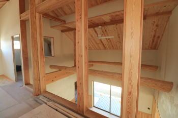 完成に向けて|福岡県筑紫野市の木造りの家