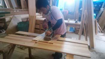 手作り家具|セルロースファイバーを採用!吹抜けのある長期優良住宅-福岡県筑紫野市-