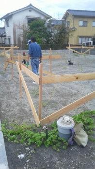 遣り方|大分県日田市の木造りの家