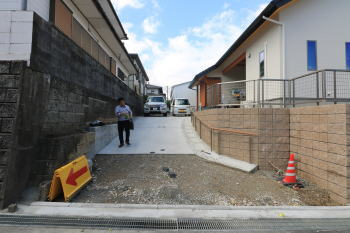 外構工事打ち合わせ|福岡県筑紫野市の木造の家