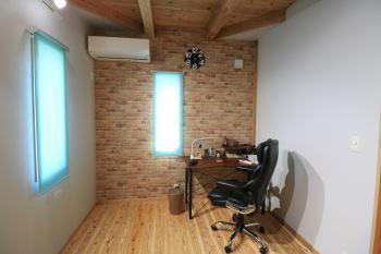自分の部屋|福岡県筑紫野市の木造りの家