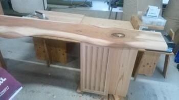 洗面台製作|福岡県新宮町の木造りの家