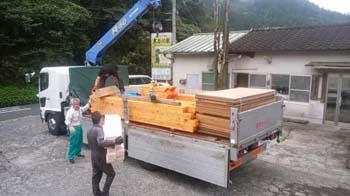 サア!来週から建て方が始まります!! 暮らしの変化にも対応 健康を考えたシンプルな住まい-大分県日田市-