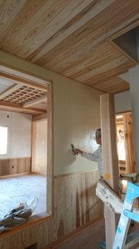 和室天井|こんな家に住みたい!夢をかなえた本物の自然素材の家-福岡県糟屋郡-