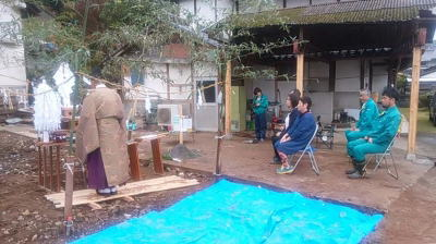 地鎮祭|熊本県菊池市の木造りの家