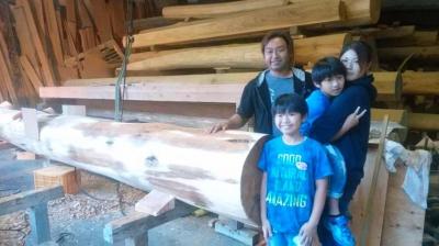 来訪|福岡県筑後市の木造りの家