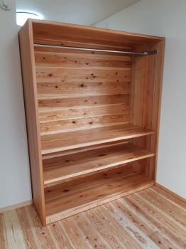 手造り家具(可動式収納)木造りの家フォーユー