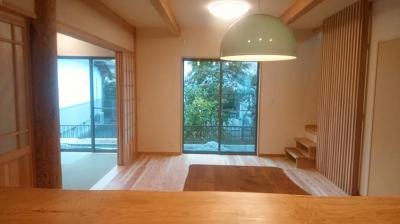 完成見学会|大分県日田市の木造りの家