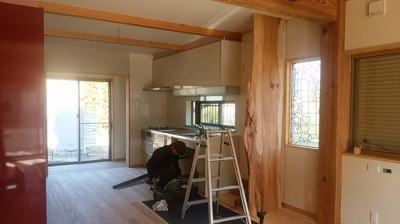 現場|大分県日田市の木造りの家
