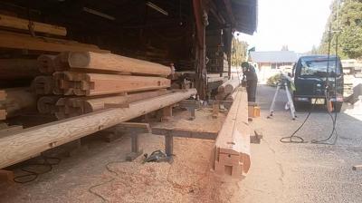 仕事初め|熊本県菊池市の木造りの家