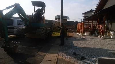 外構工事|福岡県新宮町の木造りの家