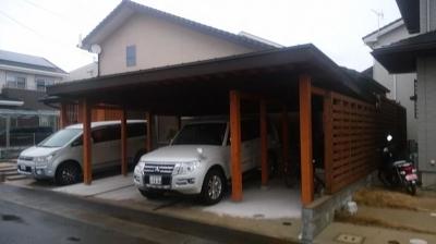 福岡県小郡市の住まいへお客様を案内|木造りの家フォーユー