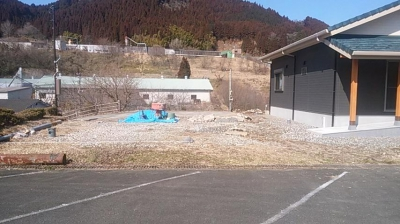外構打ち合わせ|大分県日田市の木造りの家