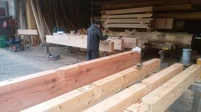 切り込み加工|熊本県菊池市の木造りの家