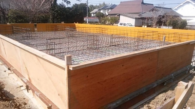 基礎工事|熊本県菊池市の木造りの家