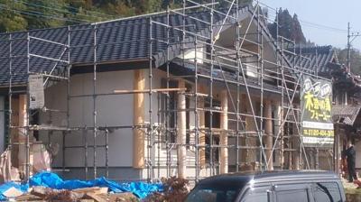 現場の様子|熊本県菊池市の木造りの家