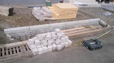 外構工事|大分県日田市の木造りの家