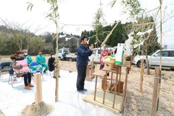 地鎮祭|熊本県阿蘇市の木造りの家