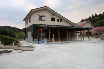 ガレージ|大分県日田市の木造りの家