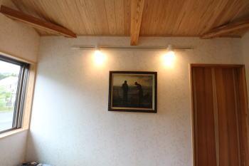大分県日田市の木造りの家