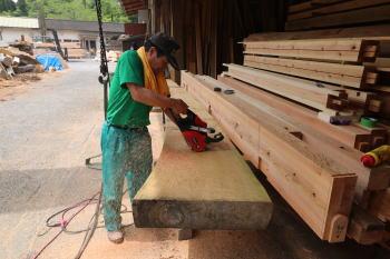 カマチ|大分県由布市の木造りの家