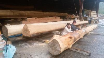 大黒柱|熊本県阿蘇市の木造りの家