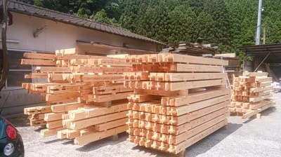構造材|大分県由布市の木造りの家
