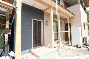 現場の様子|大分県日田市の改築工事