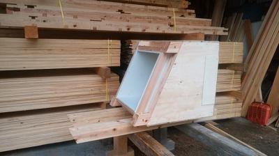 建て方に向けて|大分県由布市の木造りの家