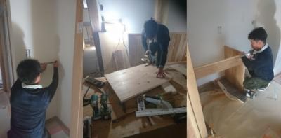 大工が造る手造り家具|地震・台風に強い!自然丸太の強度を活かした柱と梁の住まい-熊本県菊池市-