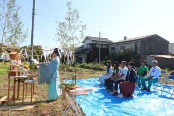 地鎮祭|福岡県久留米市の木造りの家