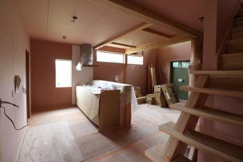 現場の様子|熊本県阿蘇市の木造りの家