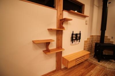 阿蘇市の木造りの家