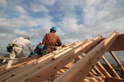 久留米市木造りの家