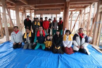 上棟式|福岡県久留米市の木造の家