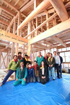 上棟式|福岡県中間市の木造りの家