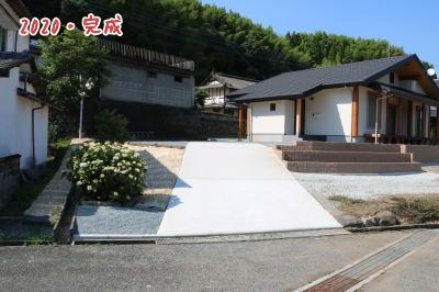 外構工事完了|熊本県菊池市