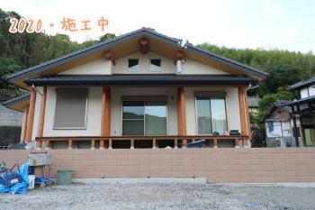 外構工事完了!|熊本県菊池