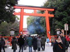 2008年元旦下鴨神社