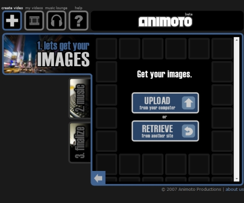 利用するイメージの場所指定