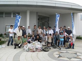 高良川清掃活動2009