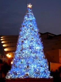 クリスマス・イルミネーションツリー