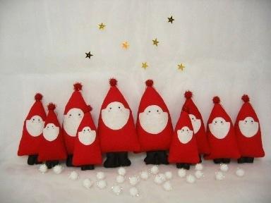 サンタさんのオーナメント ... : 折り紙クリスマスツリー簡単 : 折り紙