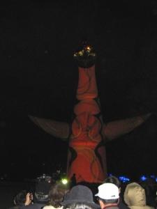 太陽の塔 クリスマス 3