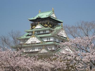 大阪城と桜 1