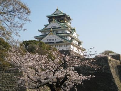 大阪城と桜 4