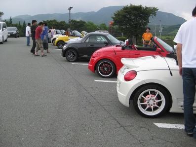 可愛いオープンカー